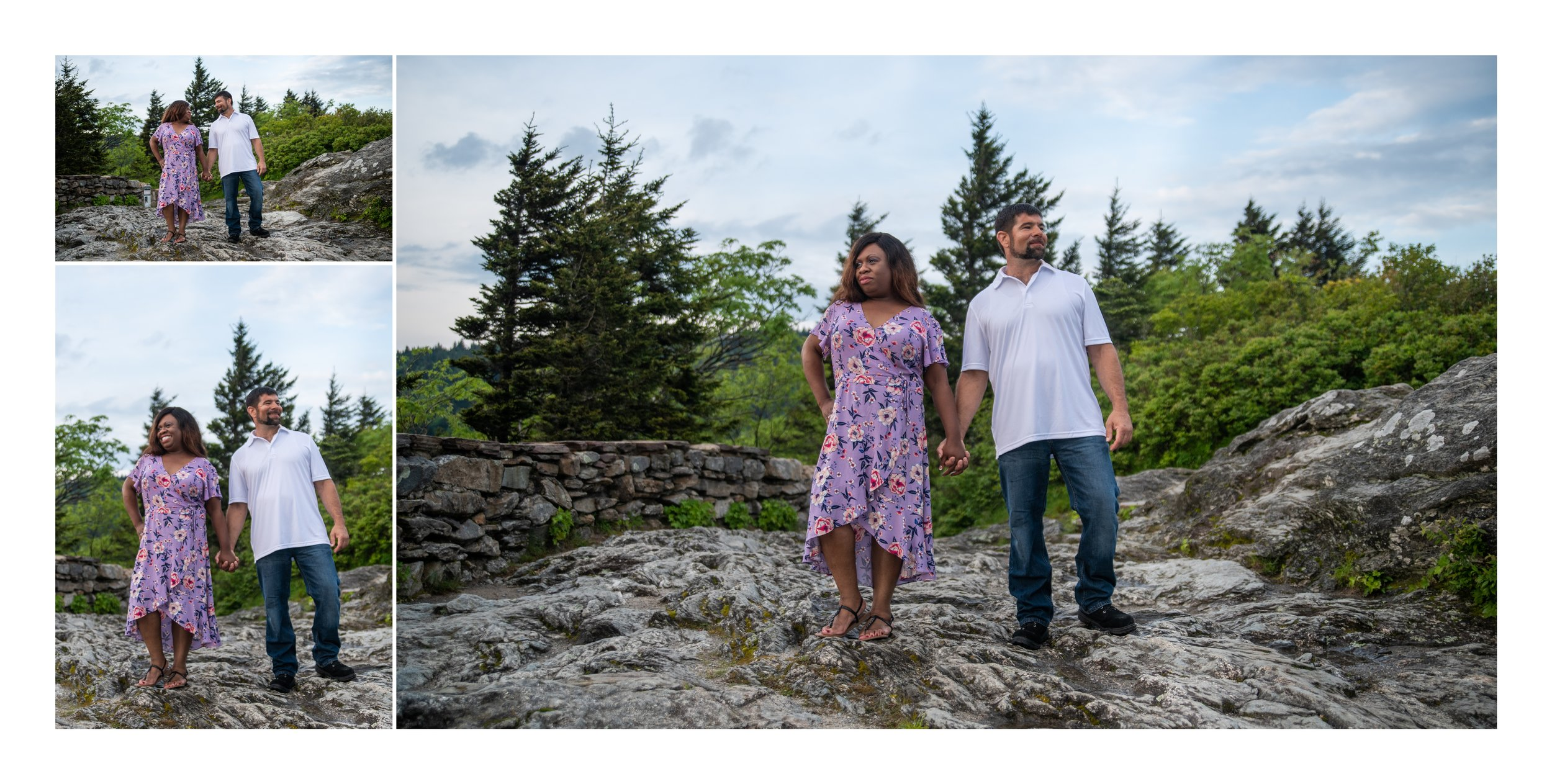 Adventure Engagement Photoshoot in Asheville, NC