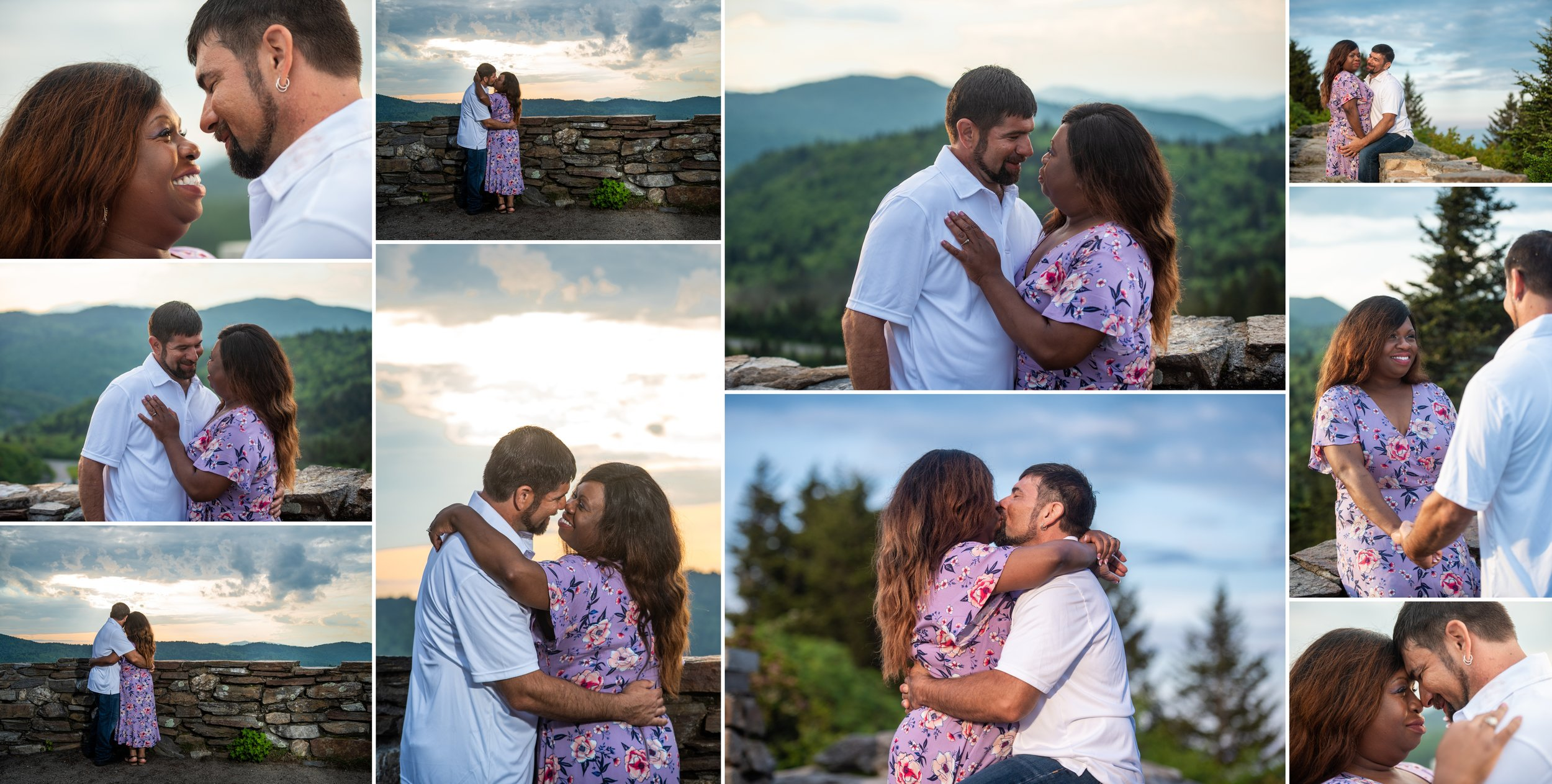 Adventure Engagement Photoshoot on the Blue Ridge Parkway