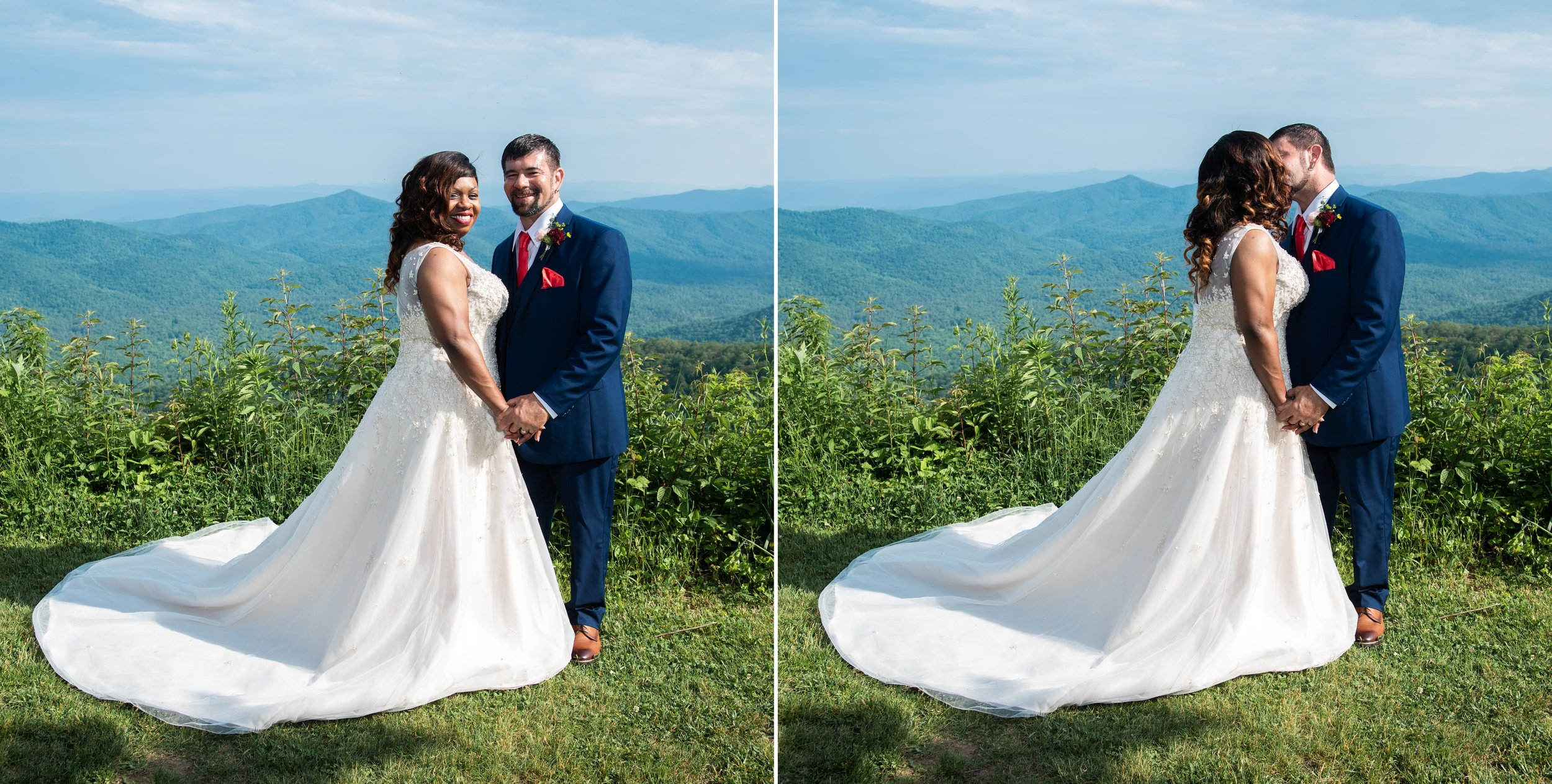 Bridal Portraits in Asheville, NC