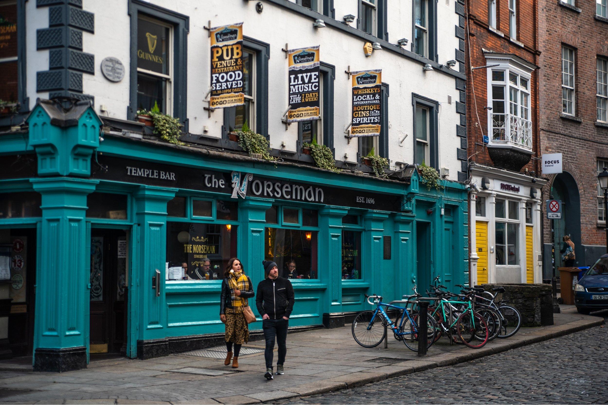 Travel Photography in Dublin, Ireland
