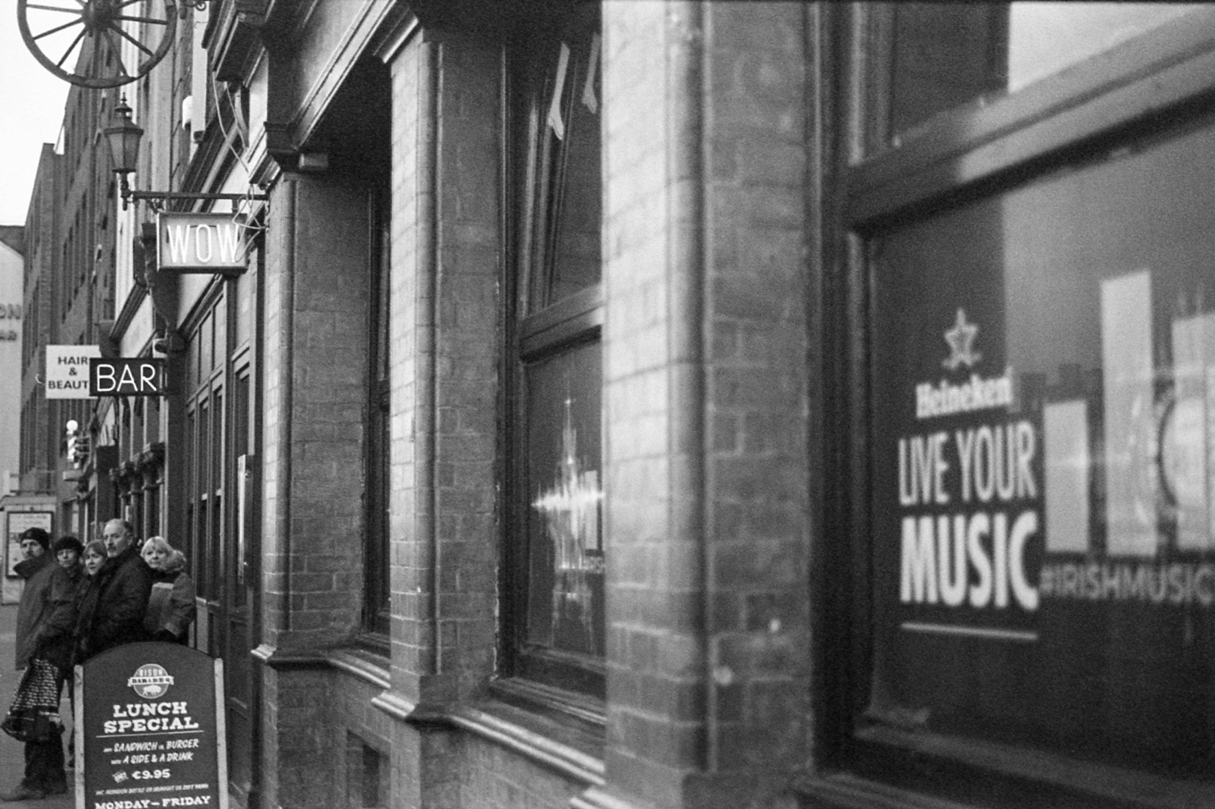 35mm Film Travel Photography in Dublin, Ireland