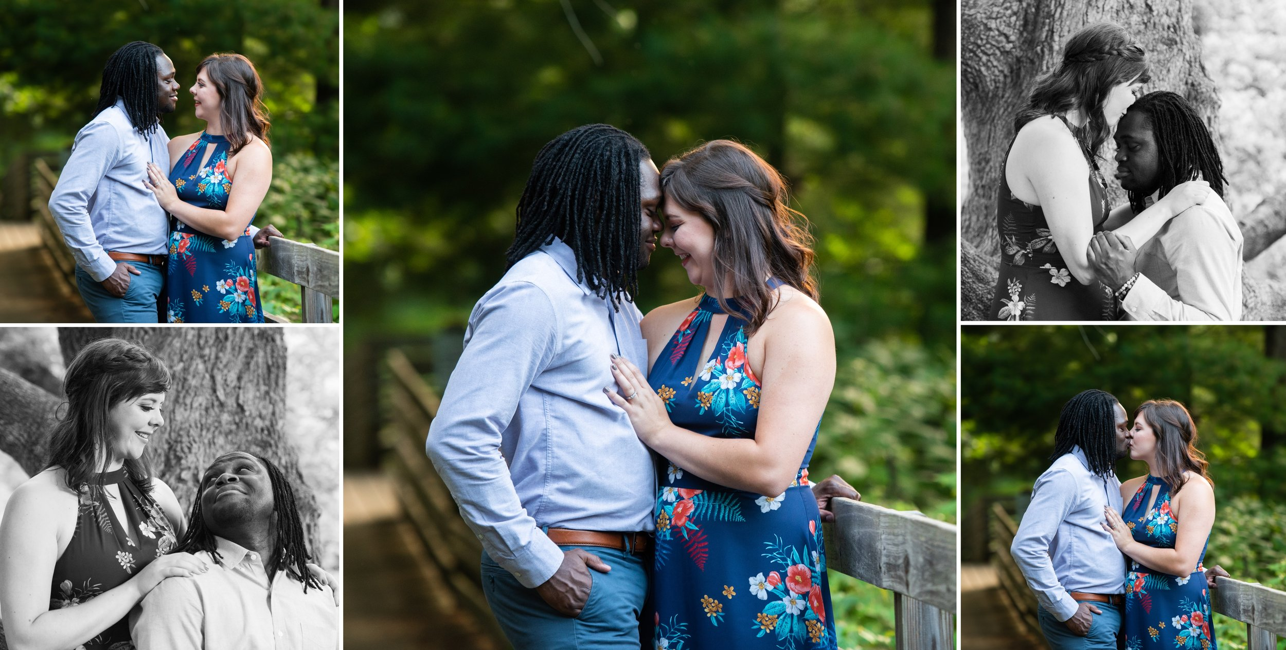 Secret Engagement Session Location in Asheville, NC