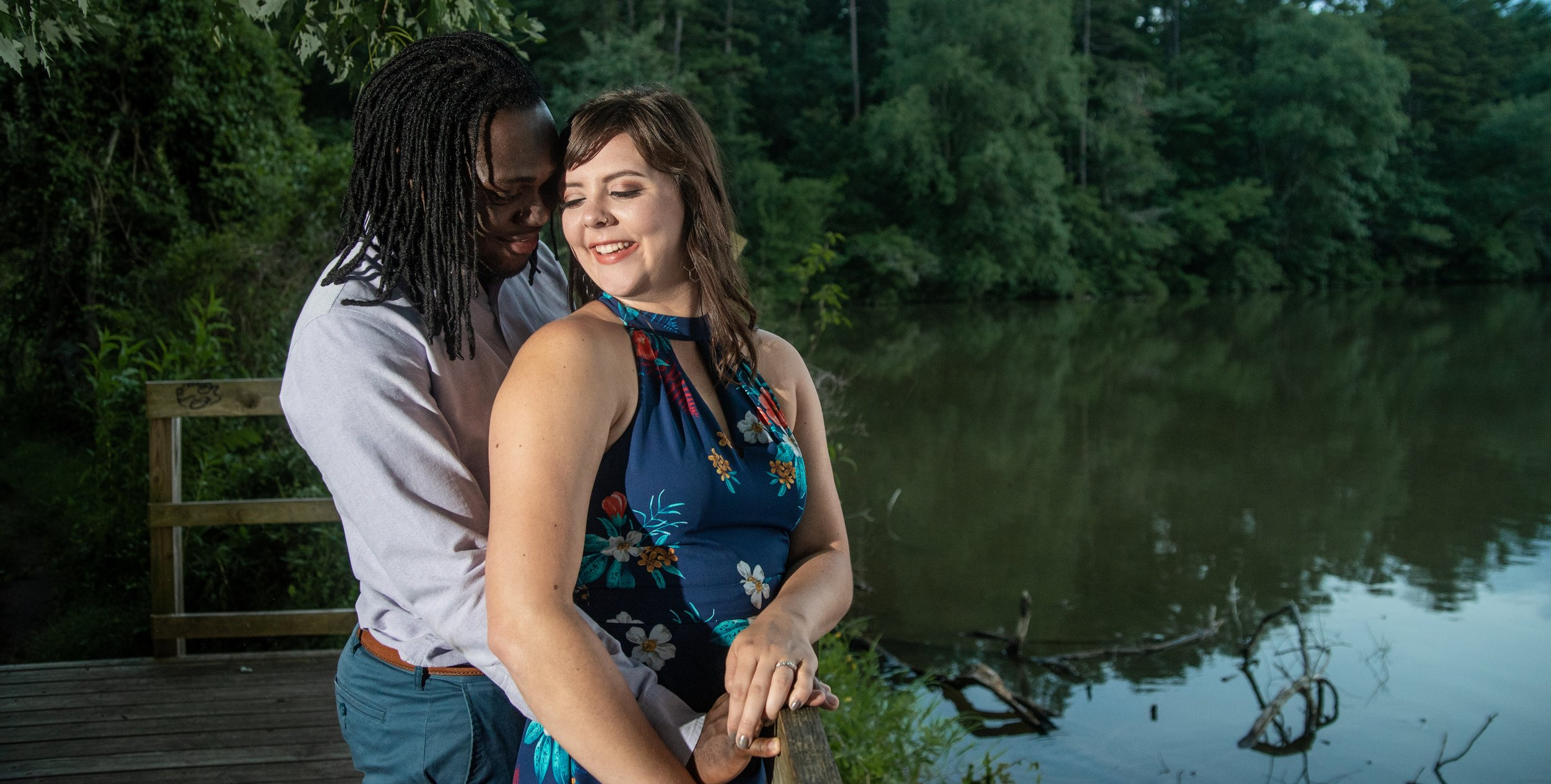 Summer Engagement Session in Asheville, NC
