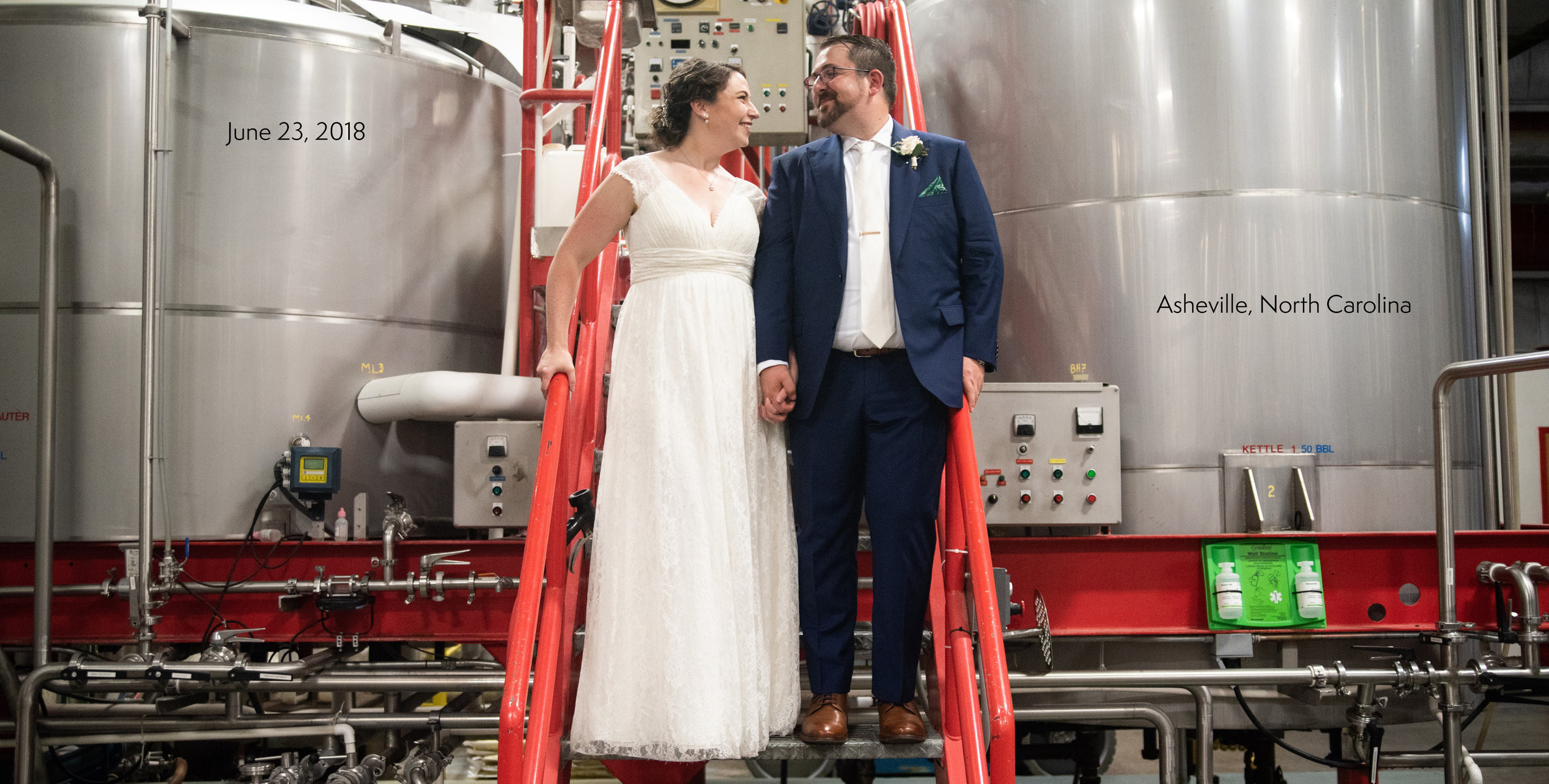 Highland Brewing Wedding Photography