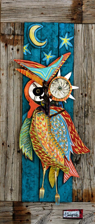 Night Owl | 23x53 inches