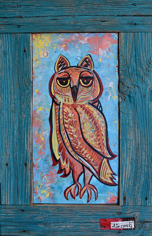 Owl 3 | 25x39 inches
