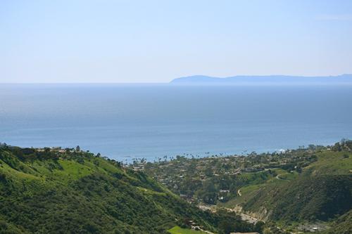 view from Alta Laguna Park in Laguna Beach