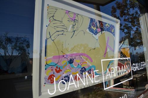 America Martin's art at JoAnne Artman Gallery in Laguna Beach