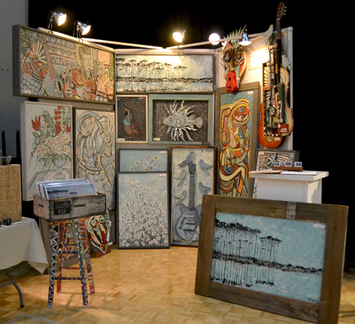 Andy's booth