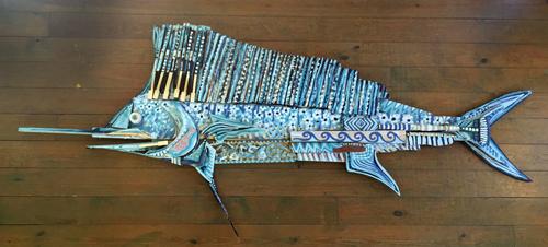 Grande Sailfish | 106x45 inches | $2800