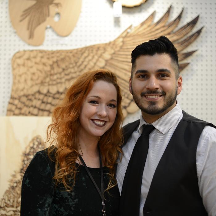 Cassi Wright + her boyfriend