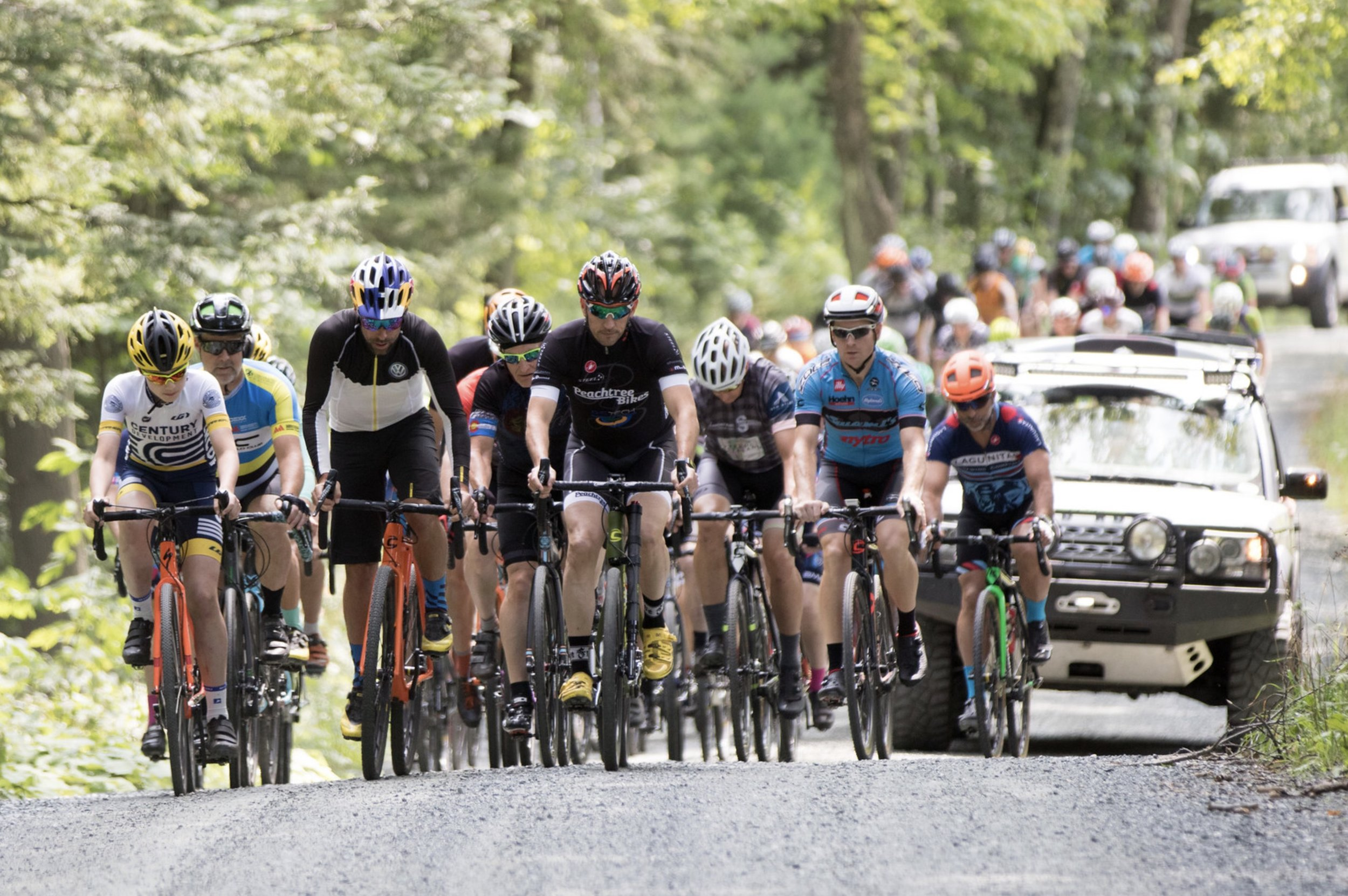 """Tim Johnson Leads the """"Preview Ride with the Pros"""""""