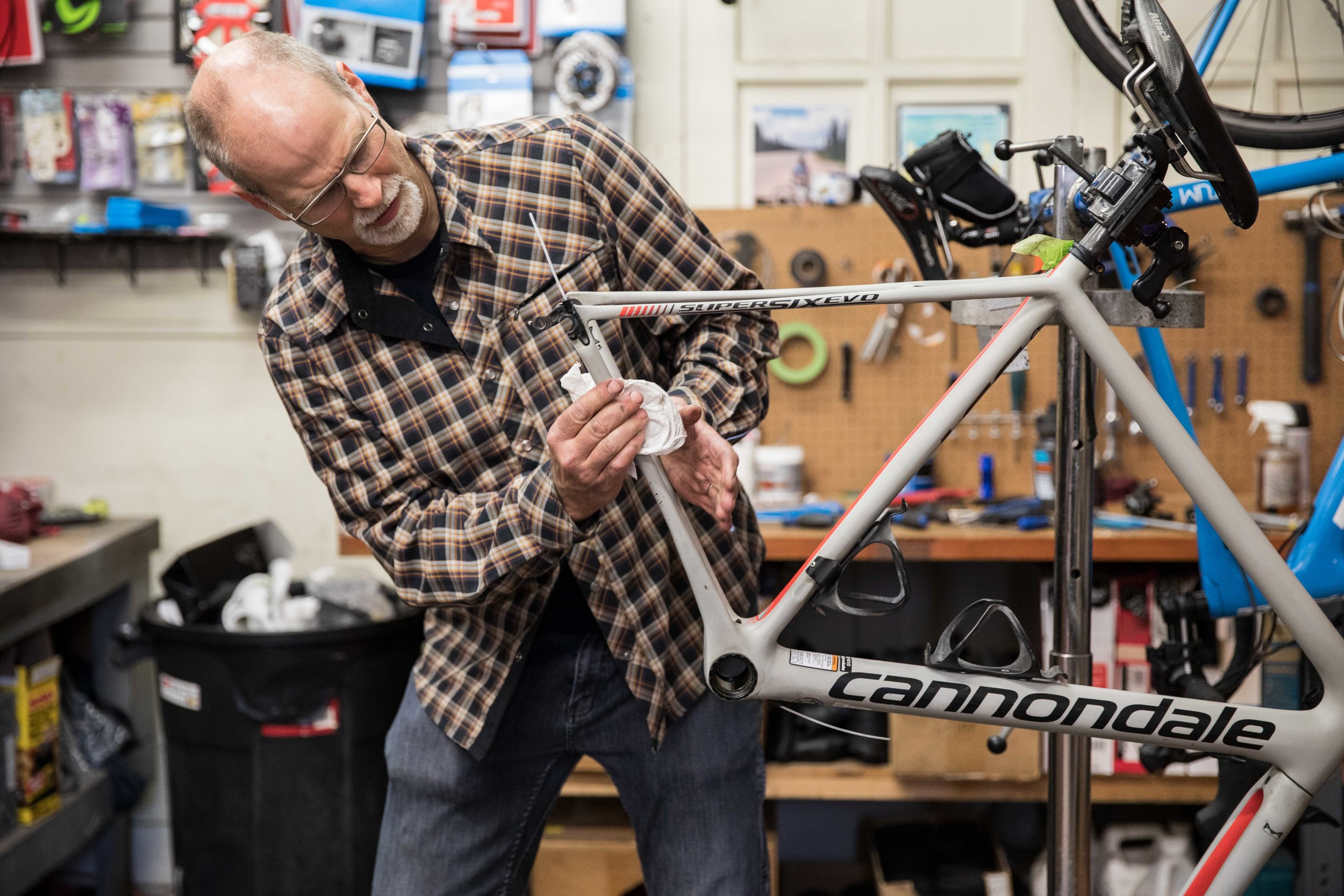 Dick Drummond, Owner of  Drummond Cycles