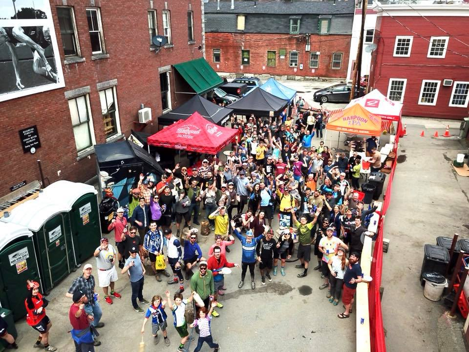 Post-Ride Party in Downtown Montpelier