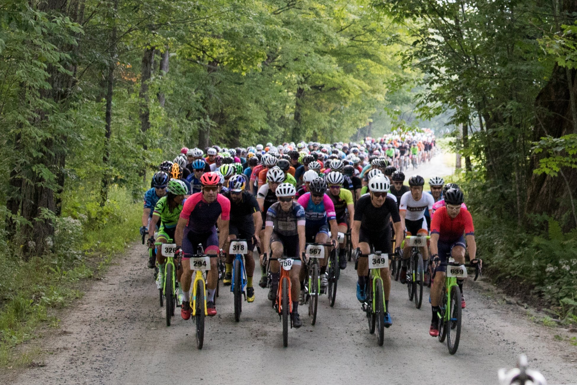 750 Riders Roll North from Reading