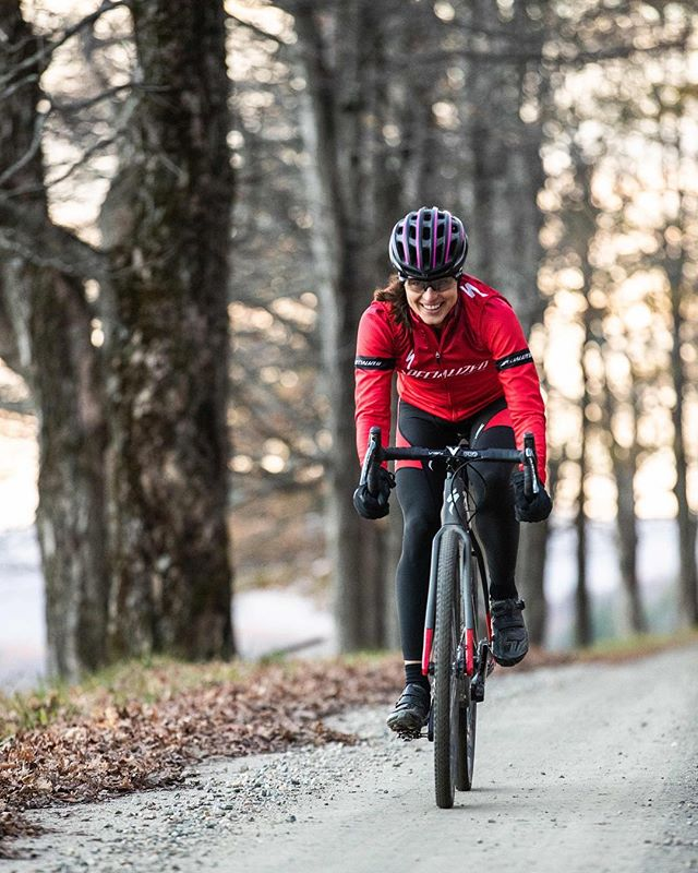 """Don't equate making mistakes with failure- it's only through learning (sometimes the hard way) that we grow"" – words of wisdom from two-time Olympian, @sarah.b.true. Our latest feature highlights her first debut onto gravel this year at @rasputitsagravel. Link in bio peeps! 🦅  #VTdirt #VermontGravel #ridegravel #cycling #fromwhereiride #roadslikethese #VT #Vermontlife #gravelbike #specializedCrux #velo #bikes #rideyourbike #cyclinglife #fit #lifestyle #photograph #olympian"