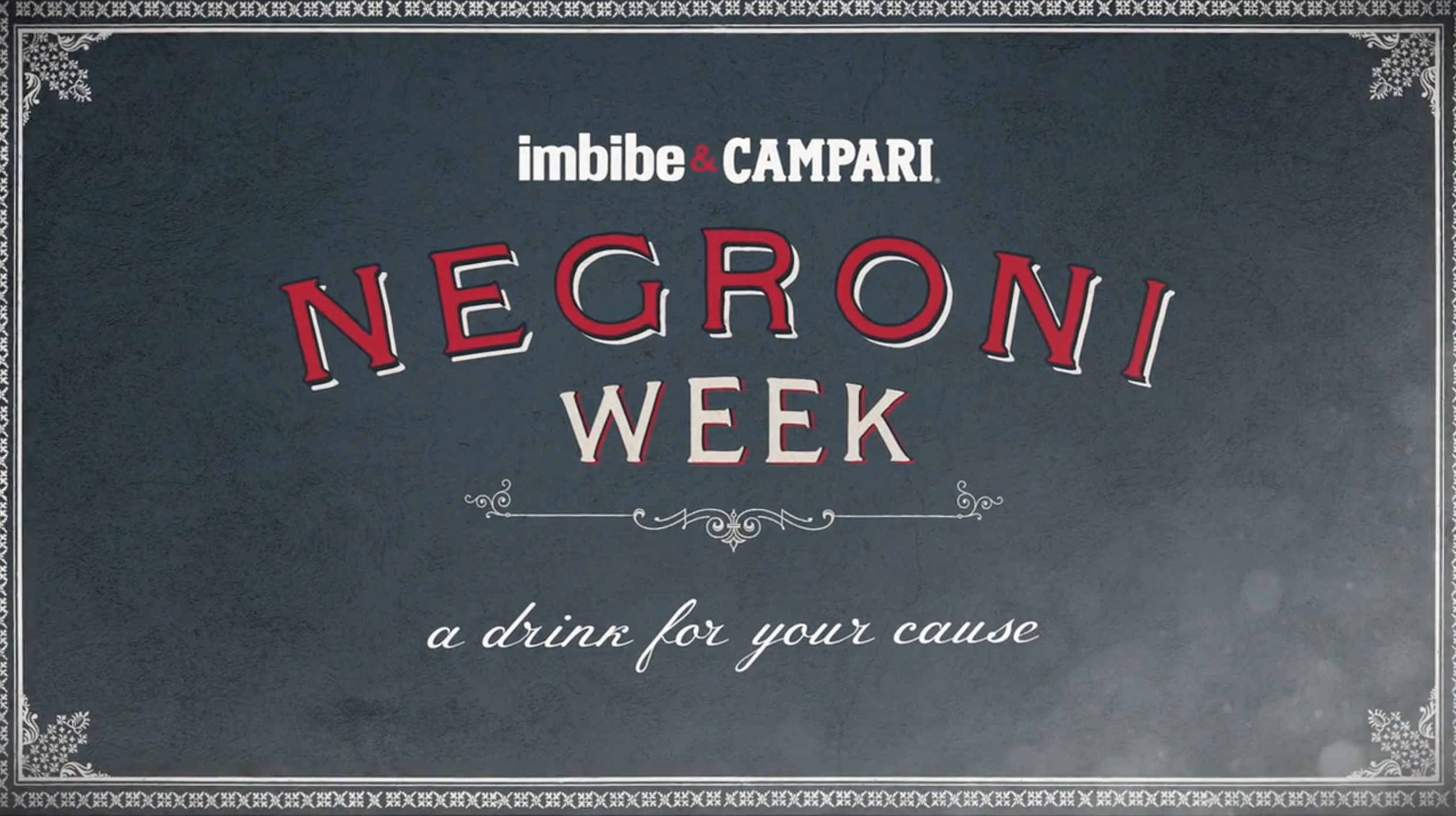 Campari Negroni - BRANDED CONTENT FOR CAMPARI'S FAMOUS NEGRONI WEEK