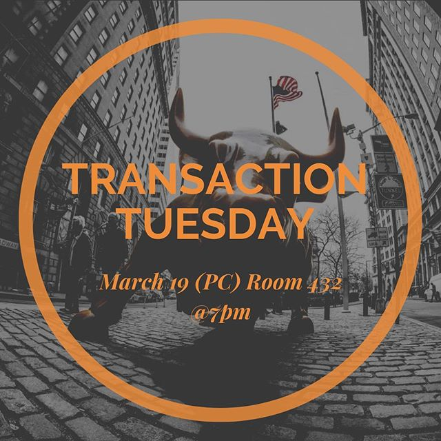 Good Afternoon guys !  Today will be hosting our usual Transaction-Tuesday meeting at Primera Casa (PC) Room 432 at 7:00 pm. Do not miss out on today's Investment Banking lecture with Rob Solo and Financial Modeling with Gabriel Zavarse-Fadul.  #fiu #entreprenuership #investing #business #fiugrad #fiu22 #fiu20 #fiubussines