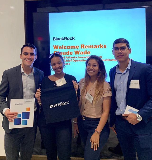 Yesterday, four of our active members attended Blackrock's Find Your Future forum in Atlanta. They were able to network with the finance professionals and learn more about the firm's values. • • • @fiubusiness @fiumarketing @fiucareer @fiuinstagram  #business #marketing #fiu #finance #banking #investmentbanking #invest #blackrock #college #university #universitylife #collegelife #businessclub #inspiration #wallstreet #florida #floridainternationaluniversity #goldmansachs #jpmorgan #morganstanley #ubs #bank #money #financialliteracy #future #education #learning #professional
