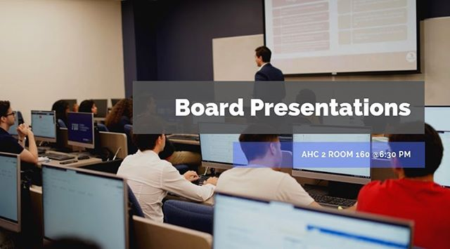 Excited to see who will be on the board next semester? Come out to today's meeting to see all possible candidates present and give feedback! • • • @fiubusiness @fiumarketing @fiucareer @fiuinstagram  #business #marketing #fiu #finance #banking #investmentbanking #invest #blackrock #college #university #universitylife #collegelife #businessclub #inspiration #wallstreet #florida #floridainternationaluniversity #goldmansachs #jpmorgan #morganstanley #ubs #bank #money #financialliteracy #future #education #learning #professional