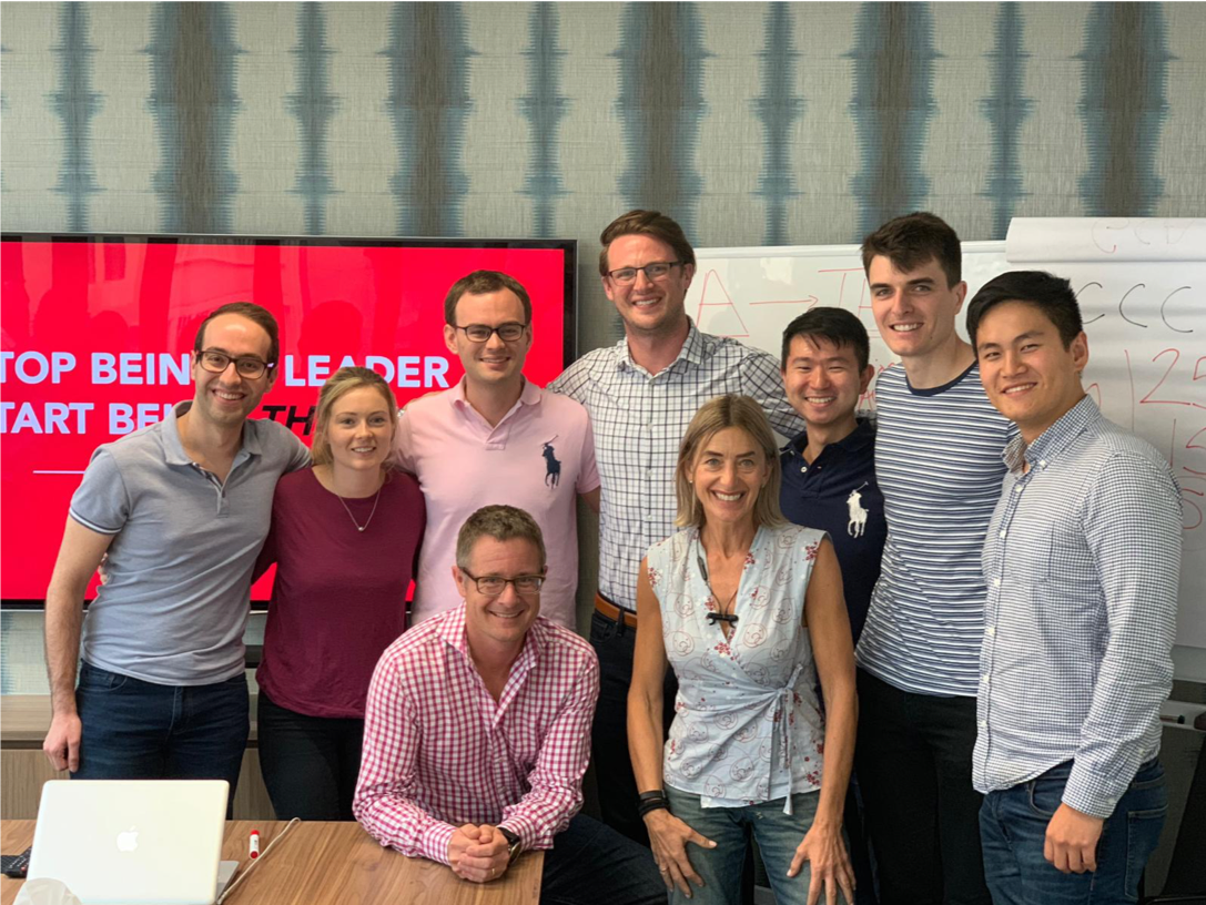 Some of the Venture team after a recent training session on leadership techniques from international speaker Ryan Avery ( click through  to find out how to be a better leader)