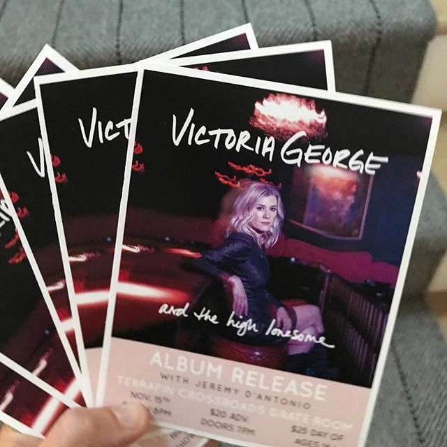 I've got handbills and posters!  Holler at me if you've got an idea of where I should put these!  Or better yet,  if YOU would like to help put them places......