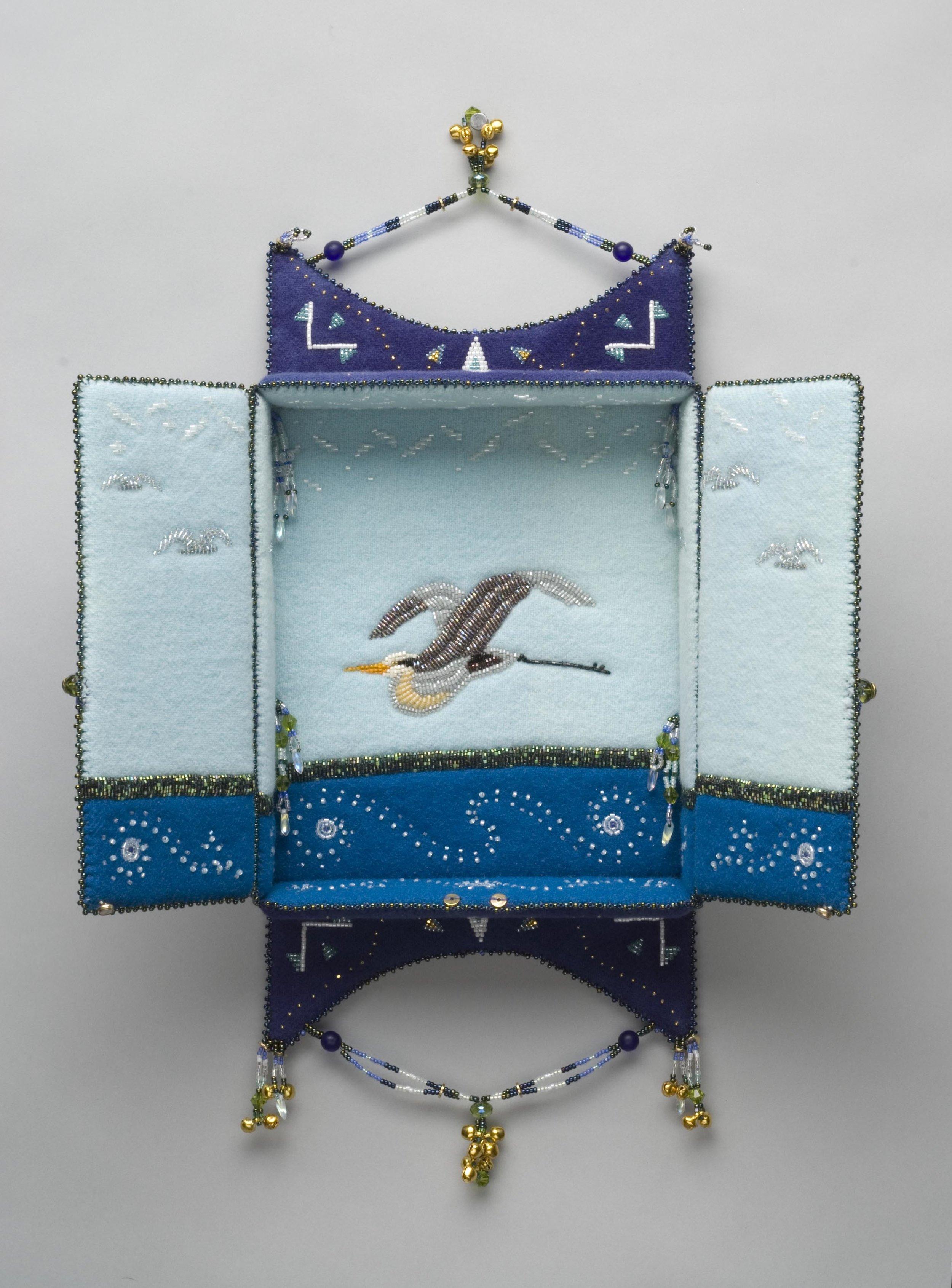 Heron Shrine, Detail