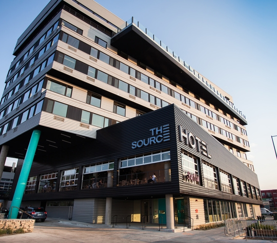 The Source Hotel and Marketplace