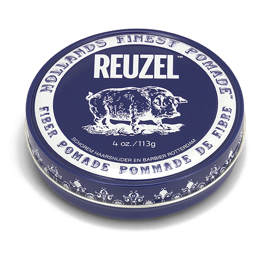 REUZEL FIBER POMADE   PLIABLE HOLD • NATURAL FINISH • WATER SOLUBLE