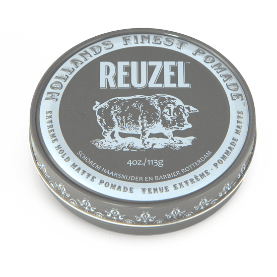 REUZEL EXTREME HOLD MATTE POMADE   EXTREME HOLD • NO SHINE • WATER SOLUBLE