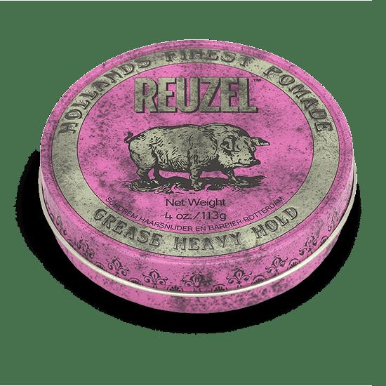 REUZEL PINK POMADE   STRONG HOLD • MEDIUM SHINE • OIL BASED