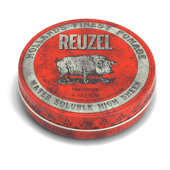 REUZEL RED POMADE   MEDIUM HOLD • HIGH SHINE • WATER SOLUBLE