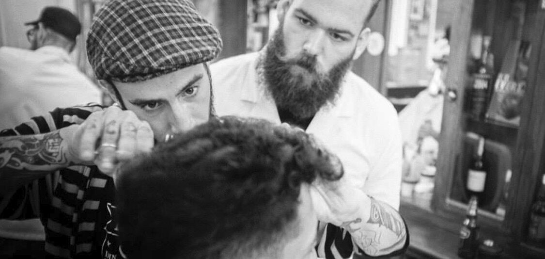 Your Barber,Taught By The Masters. - Each spring BarberX sends their newest barbers to learn additional advanced barbering techniques at The Old School Barber Academy located in the heart of the working class city of Rotterdam, Netherlands. To expand their talents and their minds.