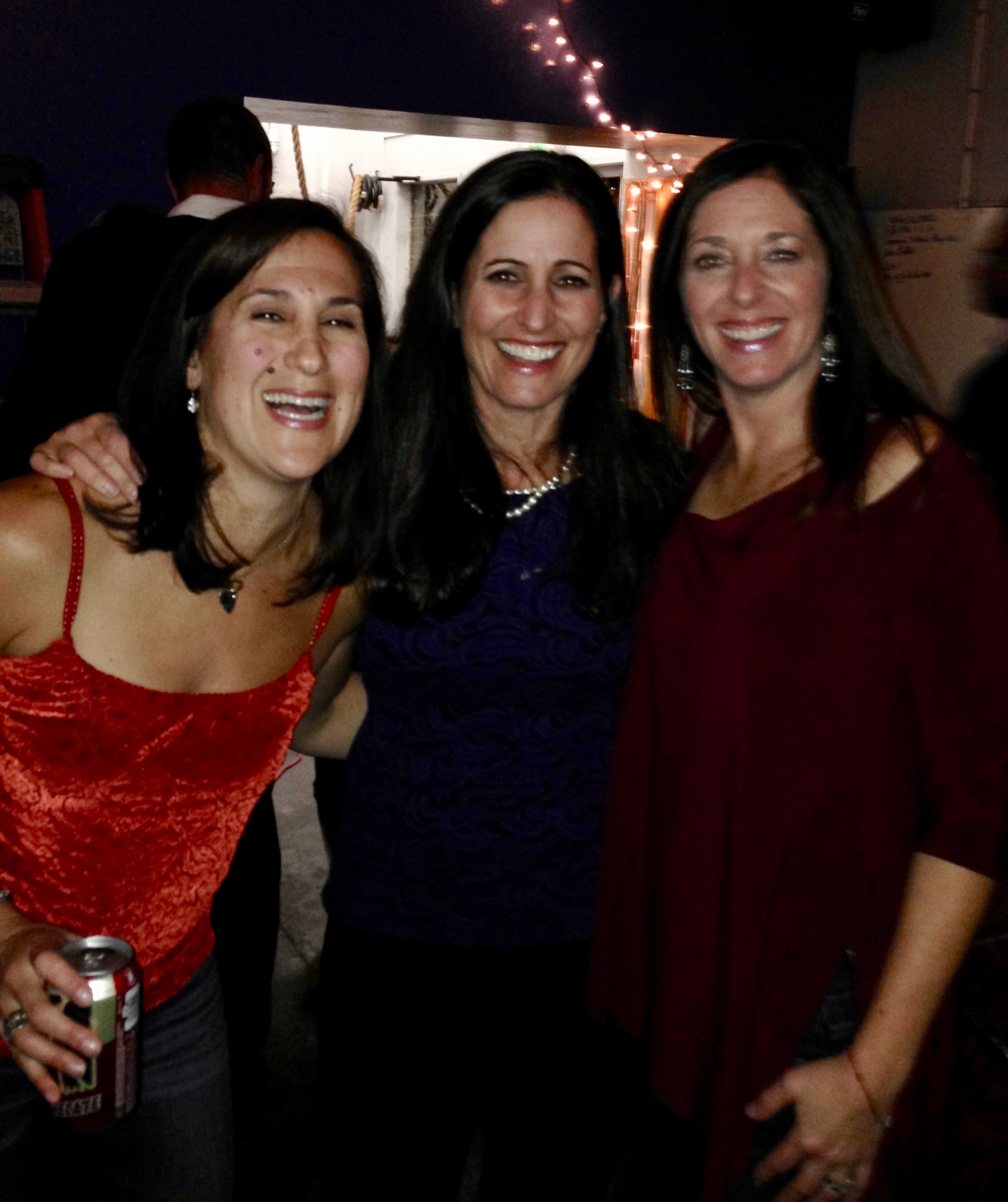 We HOPE TO SEE You At thE HOLIDAY PARTY! - This photo is from our 2013 party, and it's a reminder of the many people, like Marla and Whitney, who've been celebrating with us for MANY years. We look forward to toasting our community again and hope you'll be there.