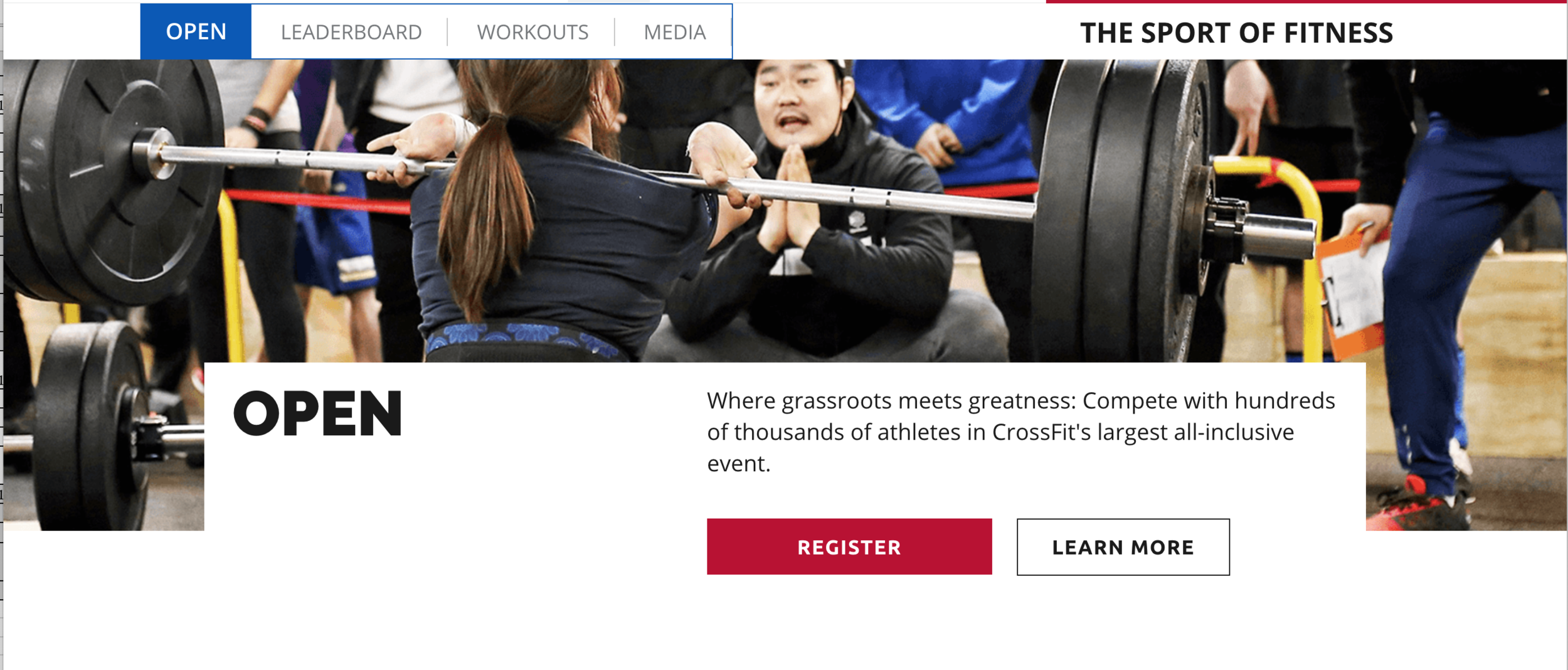 STEP ONE - Go to games.crossfit.com and either login to your existing account or create a new Games Site account.