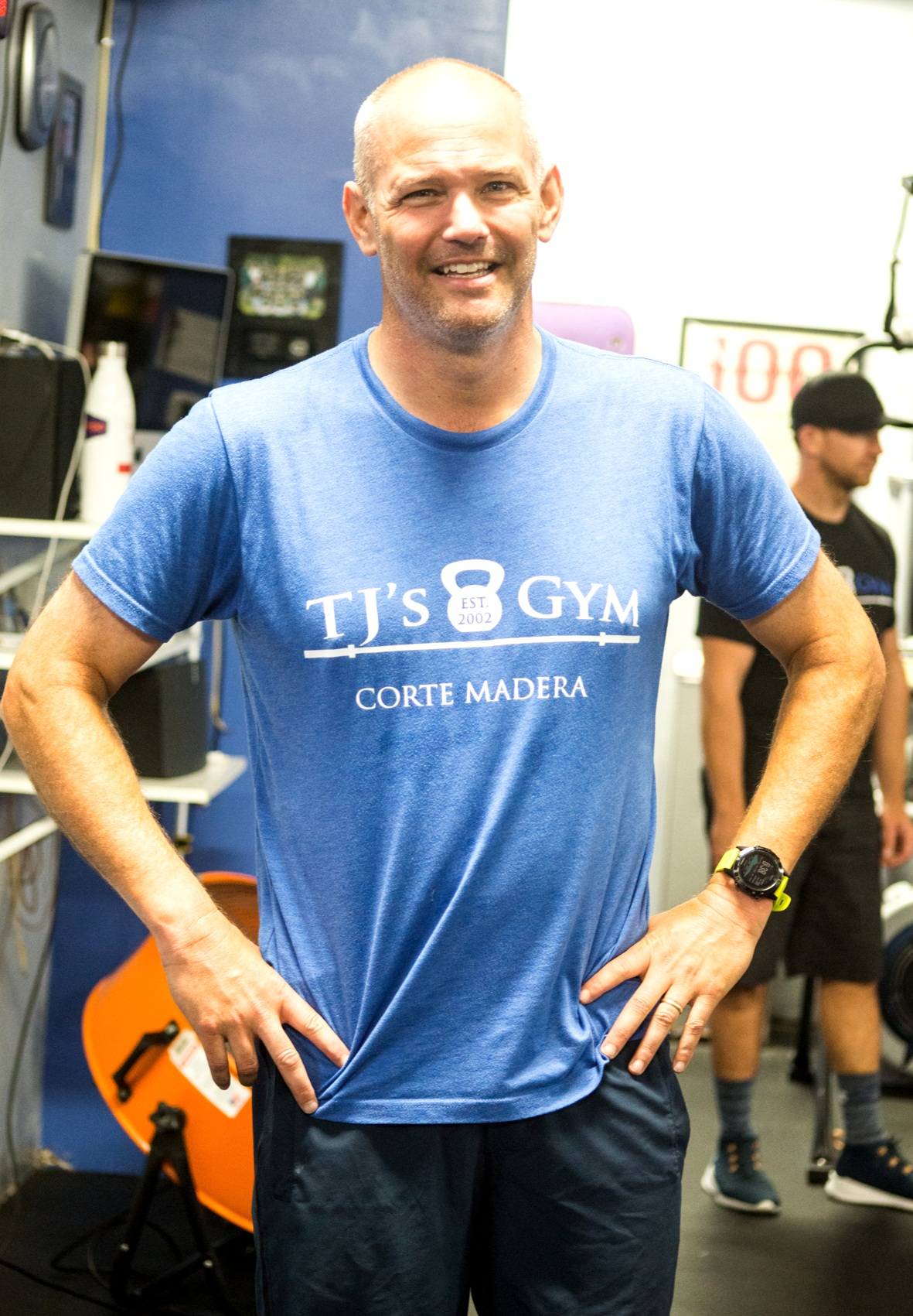 One of the good ones. - Shout out to Dr. Andy, who has been coming to the Corte Madera and San Rafael gyms for years now. He's a super-accomplished, stand-up guy like so many in our midst, and he always makes his workouts happen, no matter the stressors in his life. Smart, smart man.
