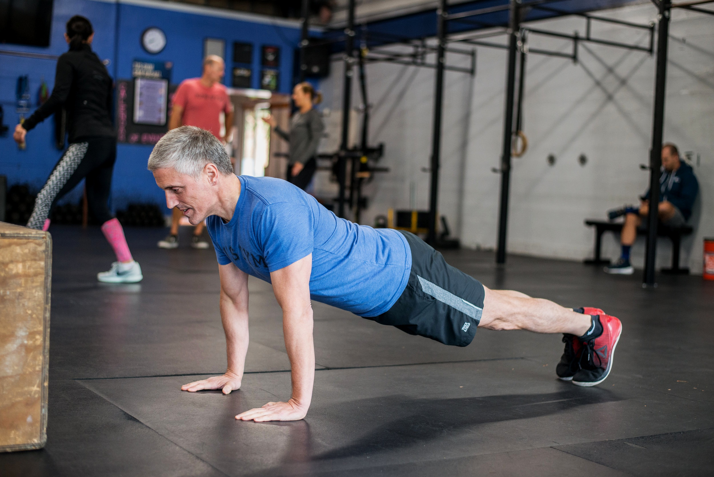 Chris came to us a few years back, suffering from chronic back pain. - He's been pain-free for quite some time. His is a great story, mostly because Chris is a stellar human being but also because his progress and health are the result of hard work and consistency through the years.