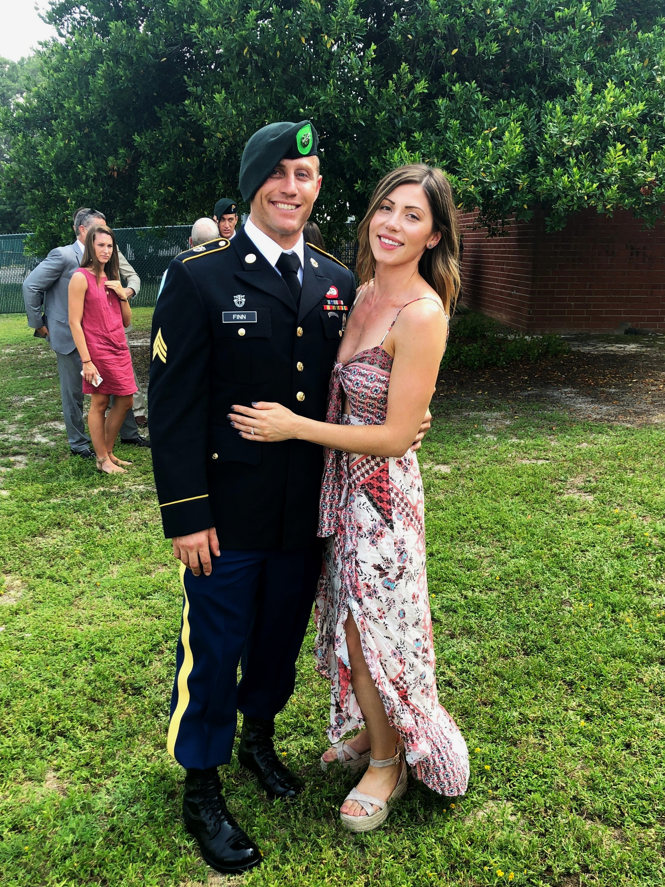 COACH BRIAN IS A GREEN BERET! - Congratulations to Coach Brian, whose hard work and perseverance have paid off. What a stud. Plus, he's getting married to fiancee Aaren soon. Brian, you're all grown up, and we are so proud!