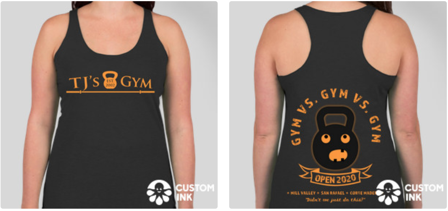 Click on the image to order your shirt. Shirts to be delivered before the Open!
