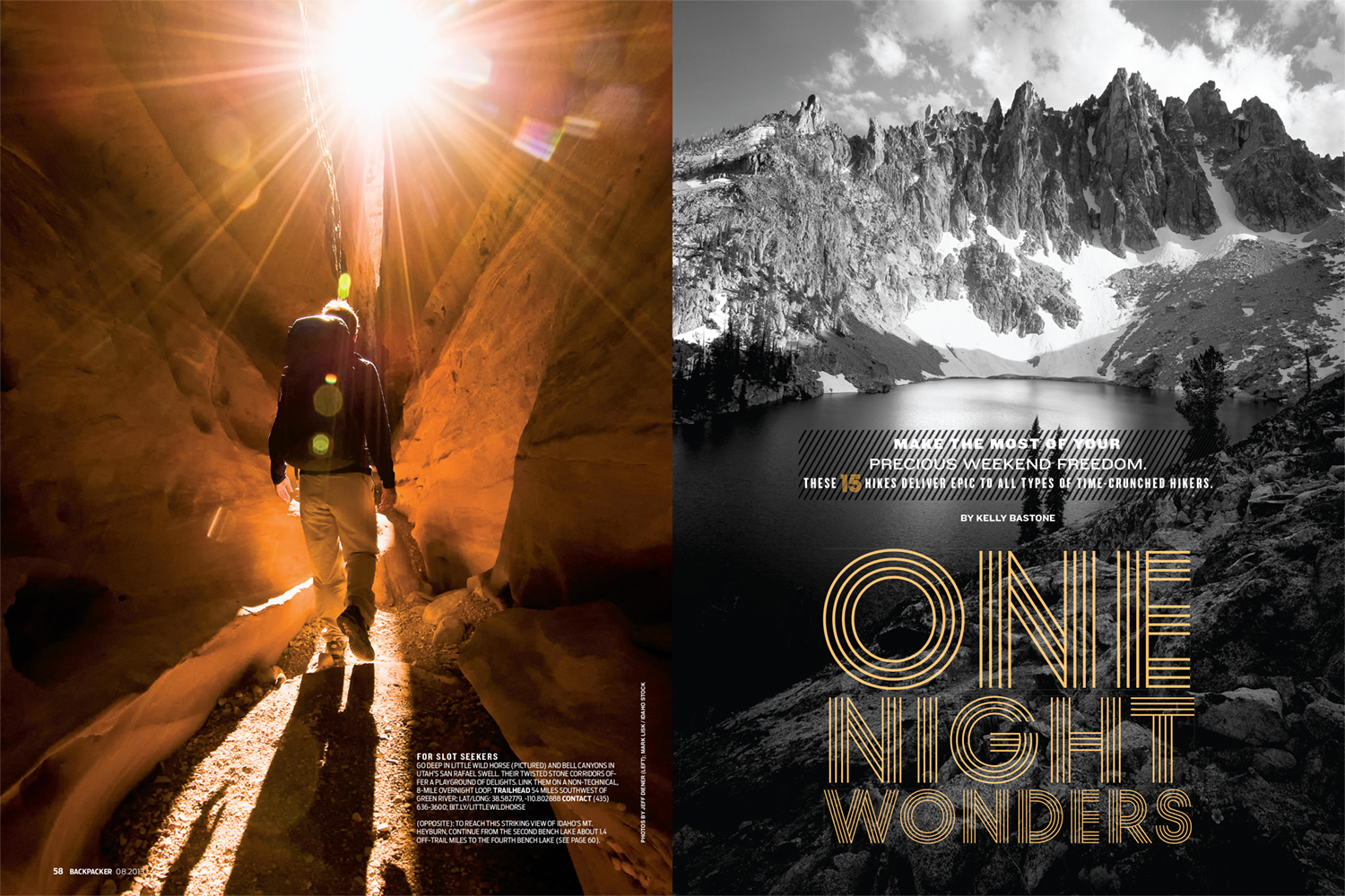 Backpacker Magazine - Feature Spread