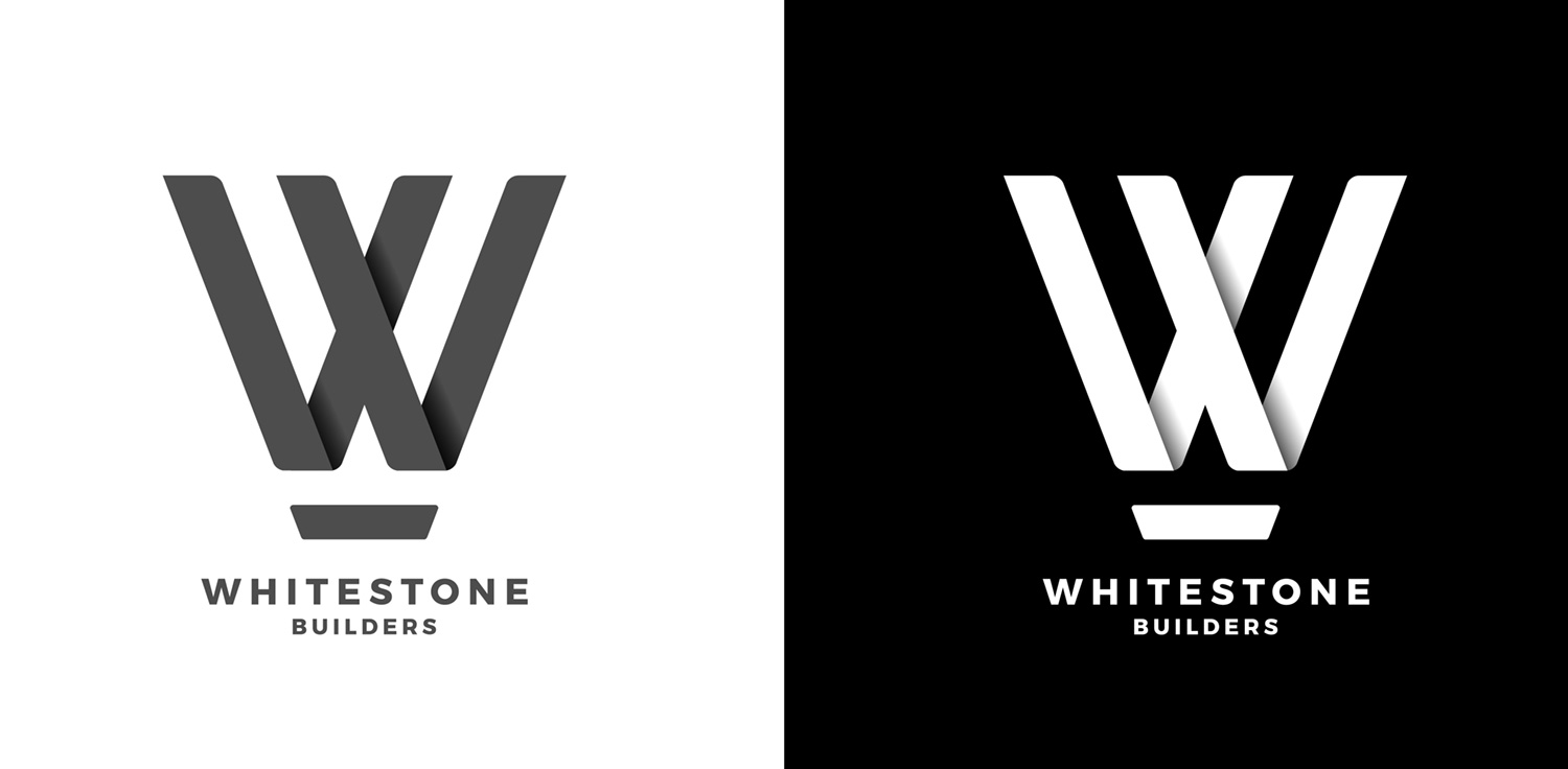 Whitestone Builders Logo Design
