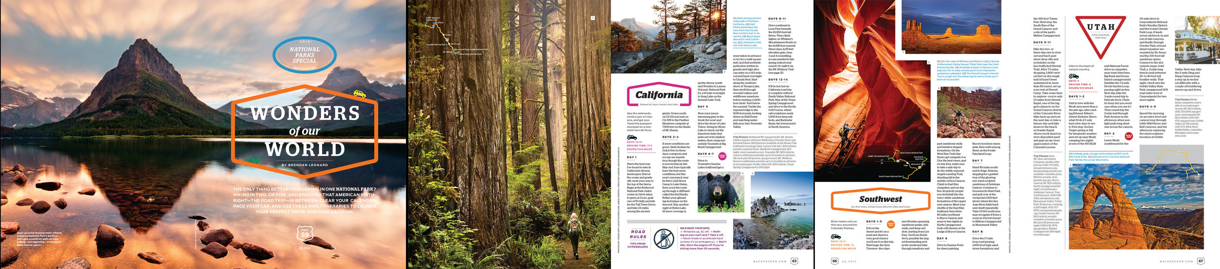 Backpacker Magazine - Feature