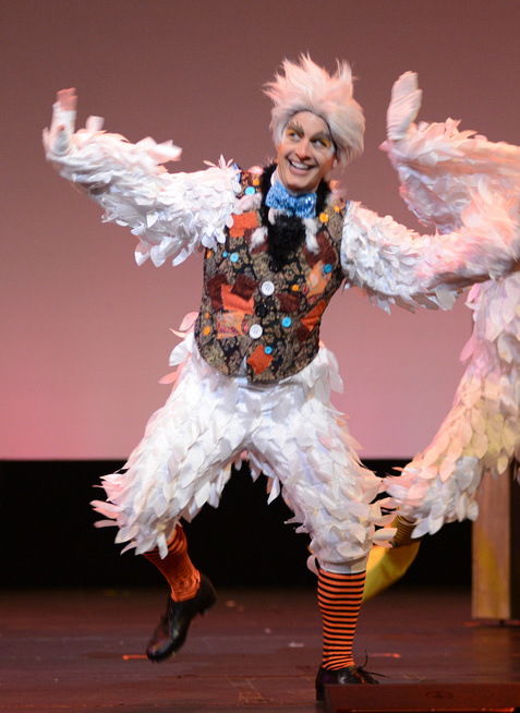 Matt as Scuttle in THE LITTLE MERMAID