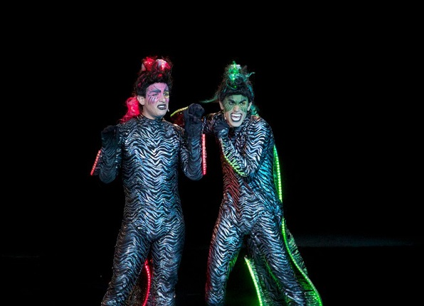 Matt as Flotsam in THE LITTLE MERMAID