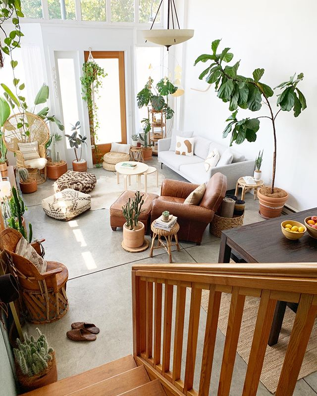 Home Sweet Home �� Our loft tour is live today on @glitterguide ✨🌿 . See more photos of our space + read our interview 📷 . Link in profile + stories �