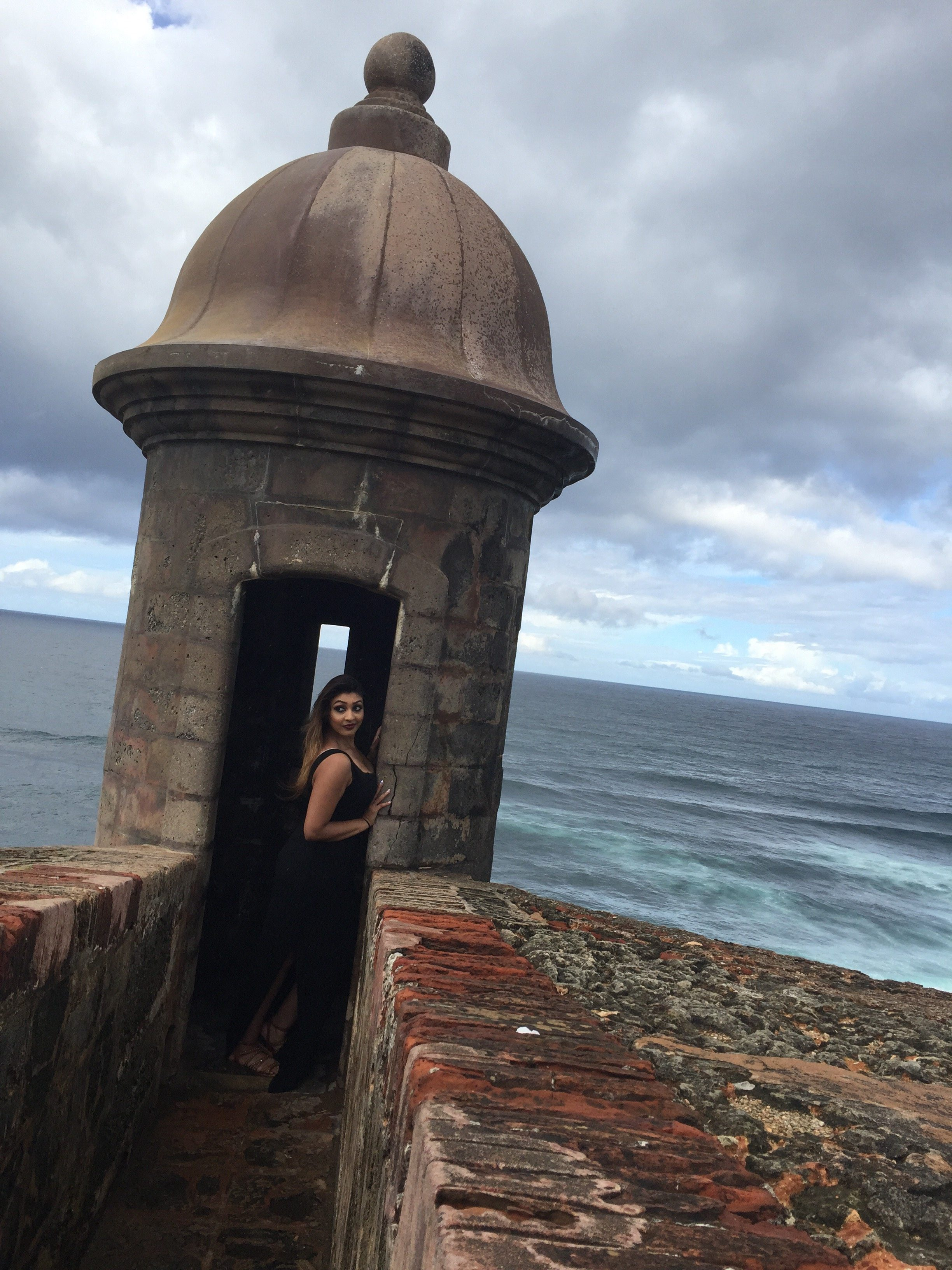 May I suggest cloudy days for the best vacay photos!! San Cristobal, Puerto Rico