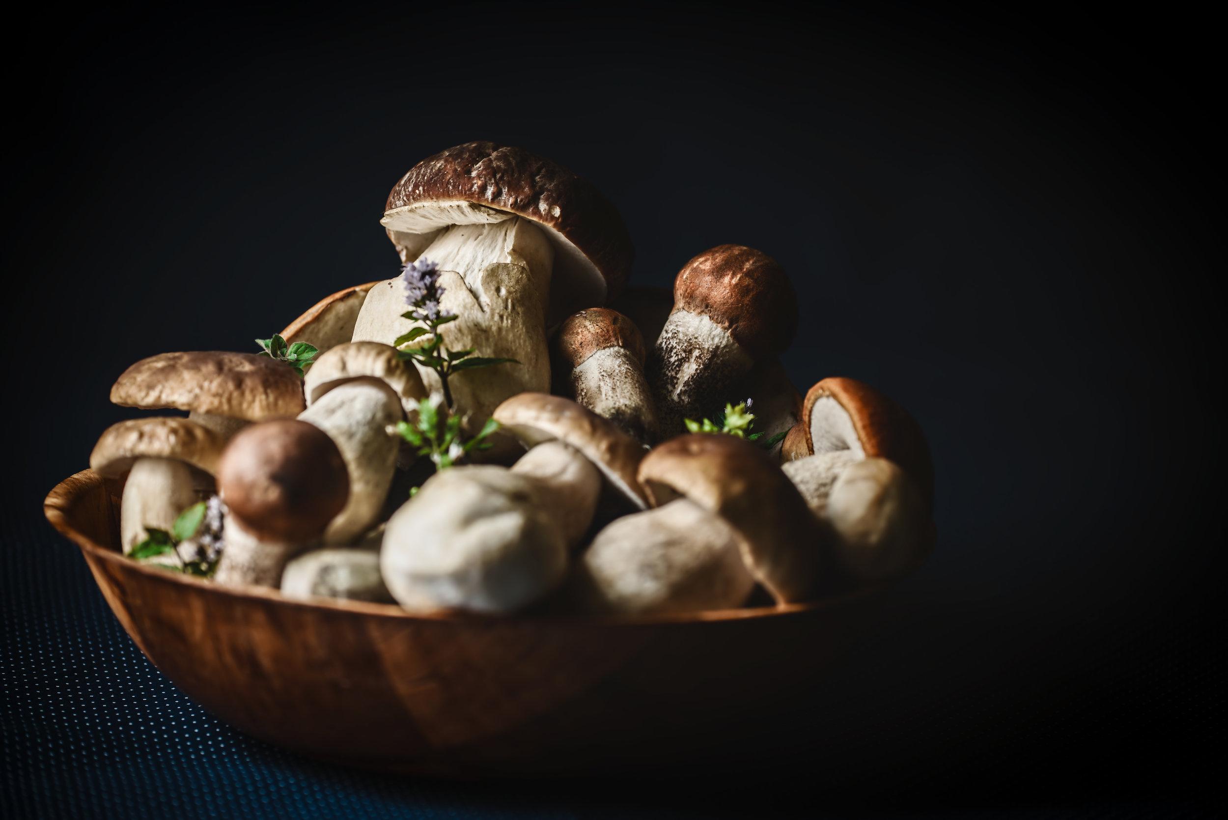 9. Mushrooms -