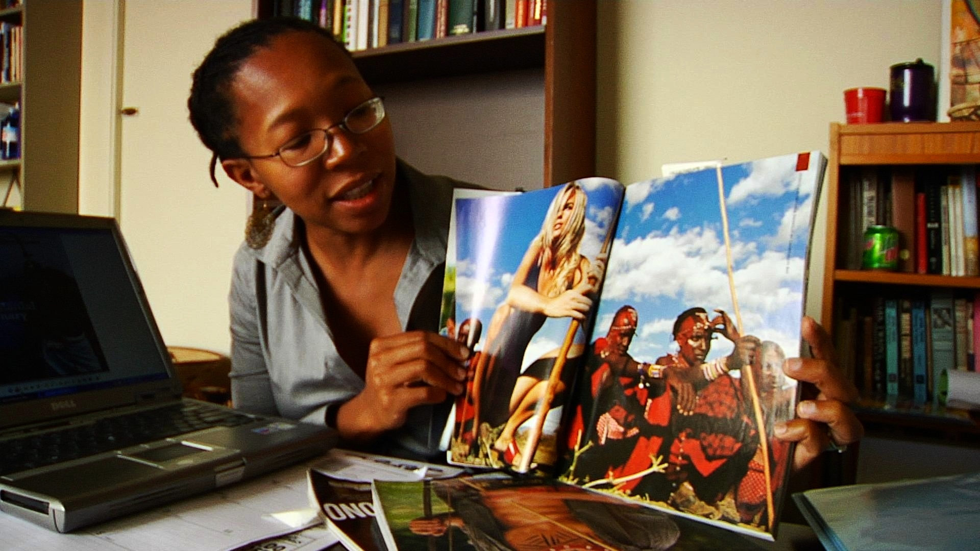 ZINE MAGUBANE, pop culture archivist and educator, flashes back in time to unpack colonial and current images of Africa in the west. She shows their power to define and dehumanize, and reveals how little has changed over time.