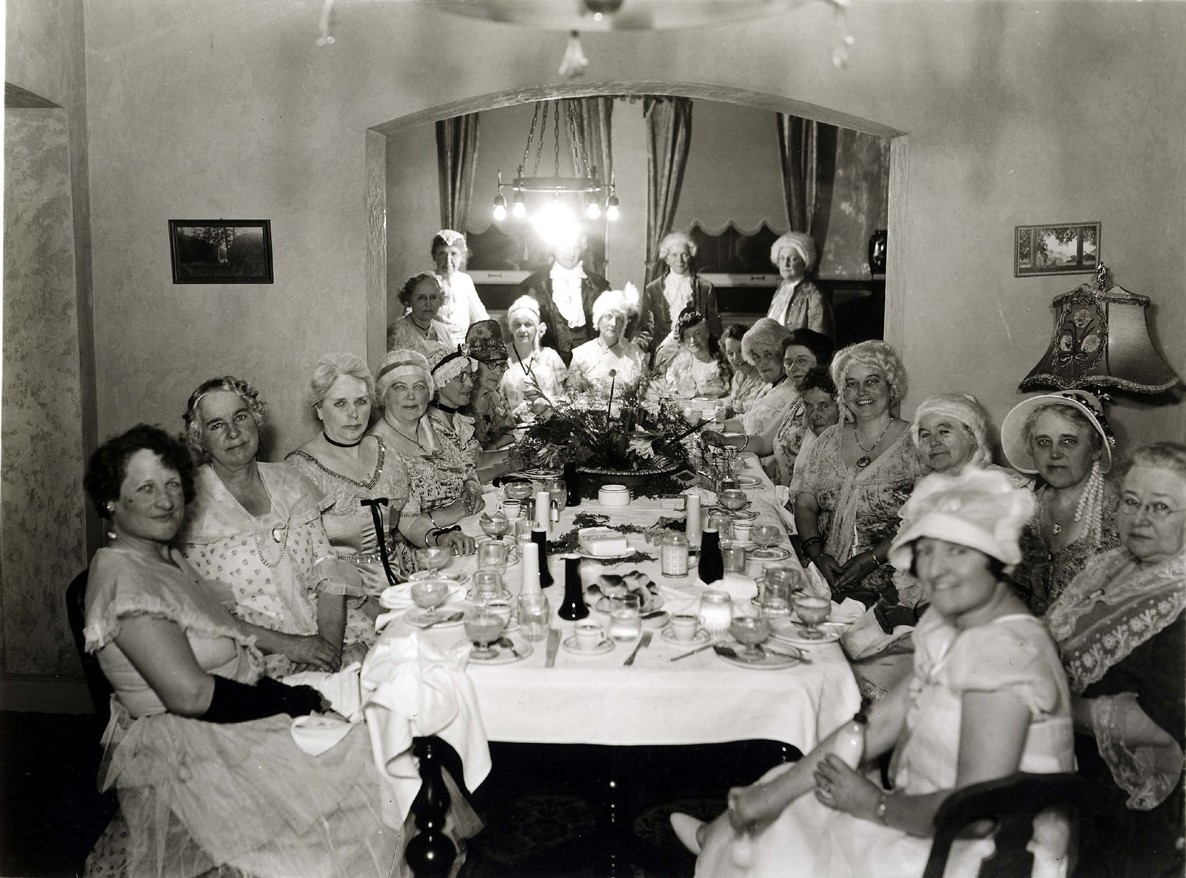 Dinner Party at the Tioga Hotel.JPG