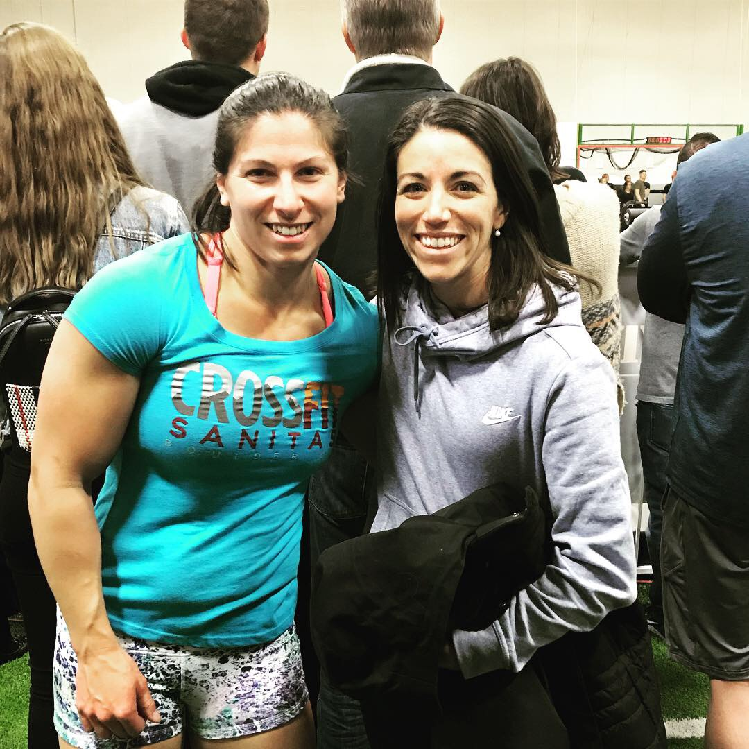 Trina competing in her first postpartum competition at the 2018 MBS Turkey Challenge!